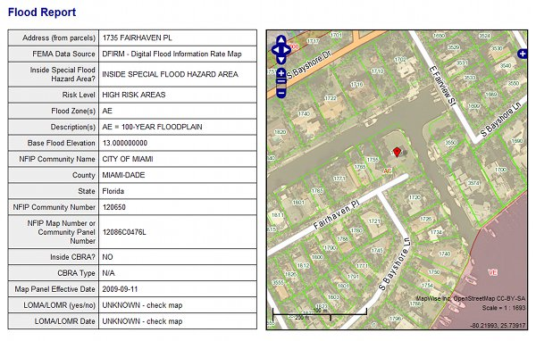 Florida Flood Zone Maps And Information - Florida flood plain map