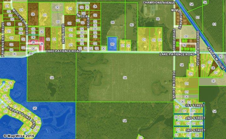 Map Of Wakulla County Florida.Florida Future Land Use And Zoning Maps